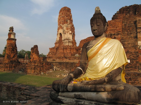 Wat Ratchaburana in ancient Ayutthaya