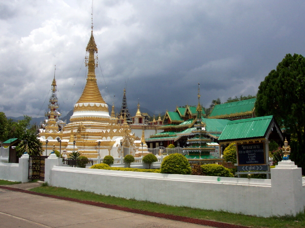 Wat Jong Klang in Mae Hong Son