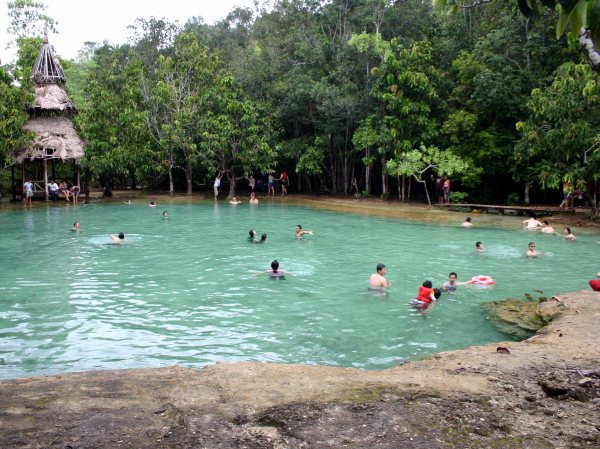 The emerald pond in Krabi Province