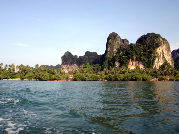 The fantastic scenery of Railay in Krabi Province