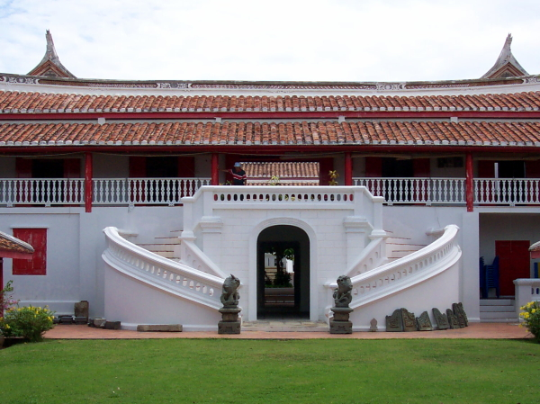 The former governor's residence, now the national museum, in Songkhla